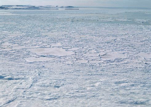 Drift Ice「Drift Ice of Lake Notori」:スマホ壁紙(19)