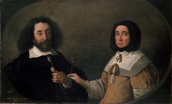 17th Century「John Tradescant The Younger And Hester」:写真・画像(4)[壁紙.com]