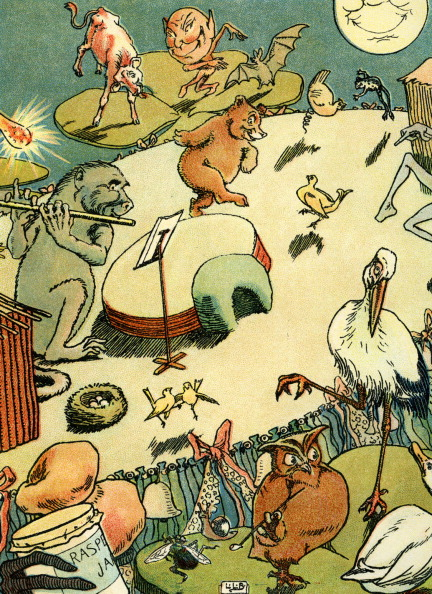 Picture Book「Edward Lear 's The Quangle Wangle 's Hat」:写真・画像(6)[壁紙.com]