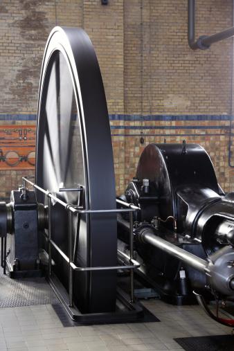 SL「動作蒸気機関車にランニングフライの輪」:スマホ壁紙(7)