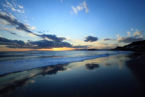 かまくら「Beach at Twilight」:スマホ壁紙(3)