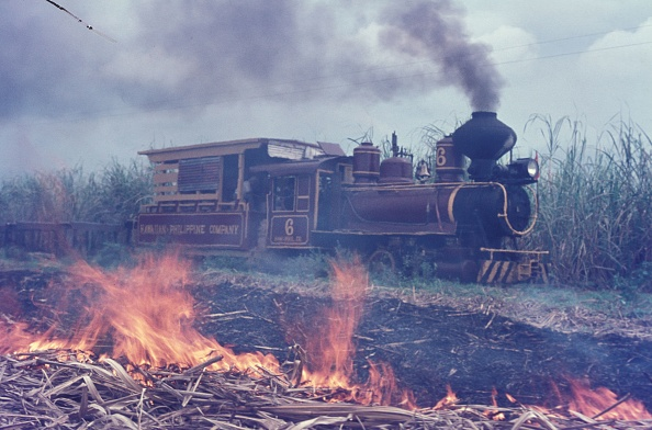 Finance and Economy「Hawaiian Philippine Company's Dragon No. 6 built by Baldwin in 1928 at work on the Company's plantation on the Philippine island of Negros in October 1974.」:写真・画像(18)[壁紙.com]