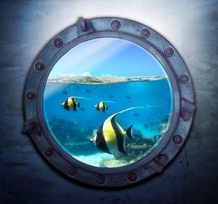 Porthole「Portal to paradise」:スマホ壁紙(0)
