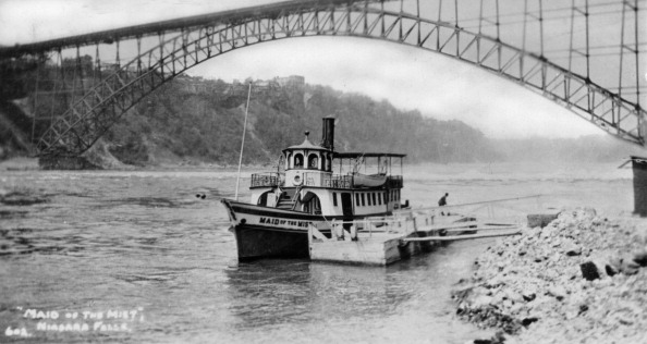 Tourboat「'Maid of the Mist', tourist boat, Niagara Falls, USA/Canada, c1930s(?).Artist: Marjorie Bullock」:写真・画像(18)[壁紙.com]