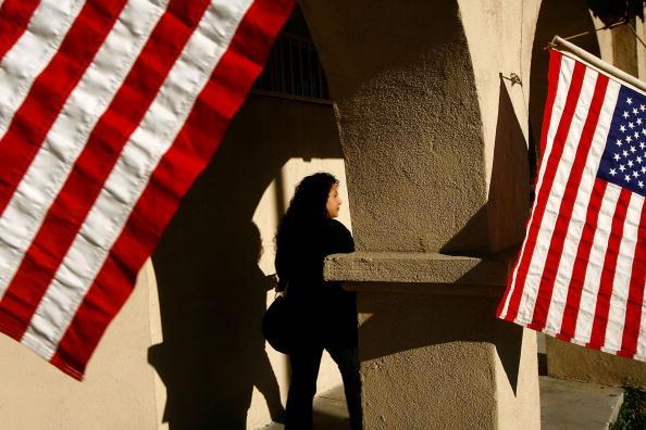 Latin American and Hispanic Ethnicity「California Voters Participate In The State's Pivotal Primary」:写真・画像(8)[壁紙.com]