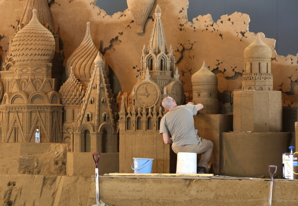 Basil「Sand Sculptures Of Russia Exhibited In Tottori」:写真・画像(4)[壁紙.com]