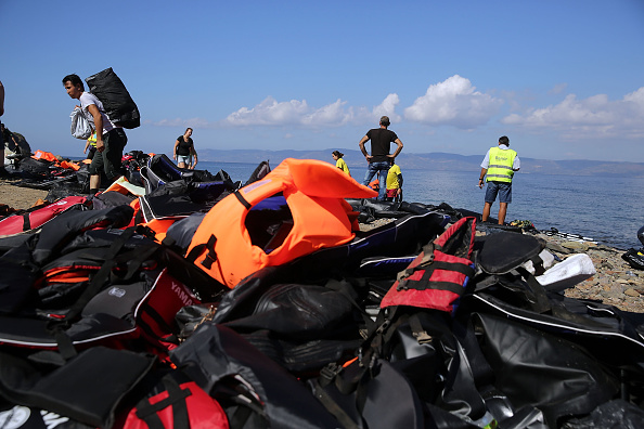 Obsolete「Greek Island Of Lesbos Continues To Recieve Migrants Fleeing Their Countries」:写真・画像(16)[壁紙.com]