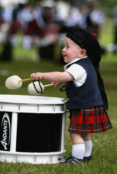 Traditional Clothing「World Pipe Band Championships Held In Glasgow」:写真・画像(4)[壁紙.com]