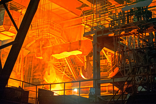 Steelmaking「Steel mill」:スマホ壁紙(9)