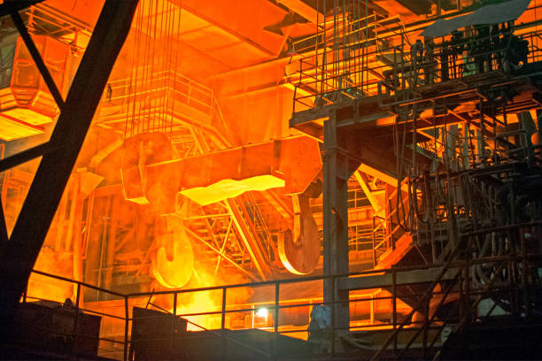 Steel mill:スマホ壁紙(壁紙.com)