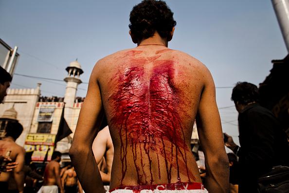 Celebration「Muslims Mark Ashura In Delhi」:写真・画像(2)[壁紙.com]