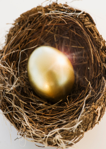 Easter Basket「Bird's eggs in a nest」:スマホ壁紙(19)