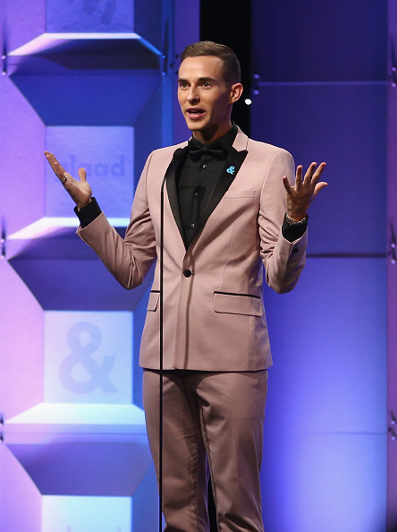 Adam Rippon「Ketel One Family-Made Vodka, a longstanding ally of the LGBTQ community, stands as a proud partner of GLAAD for the 29th Annual GLAAD Media Awards Los Angeles」:写真・画像(16)[壁紙.com]