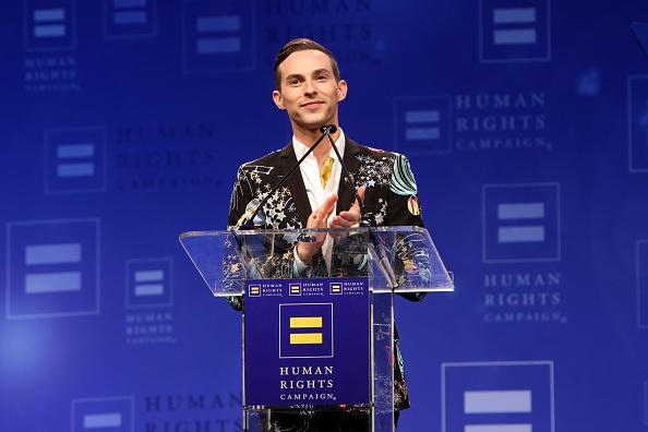 Adam Rippon「The Human Rights Campaign 2019 Los Angeles Gala Dinner - Inside」:写真・画像(15)[壁紙.com]