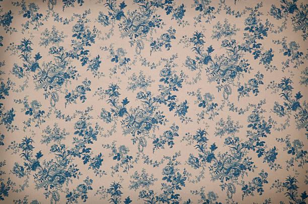 Turnsberry Toile Medium Antique Fabric:スマホ壁紙(壁紙.com)