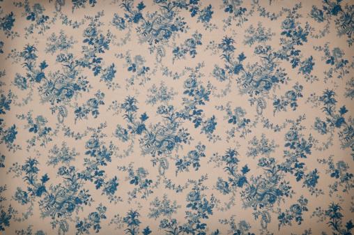 花柄「Turnsberry トワール中アンティークの布地」:スマホ壁紙(1)