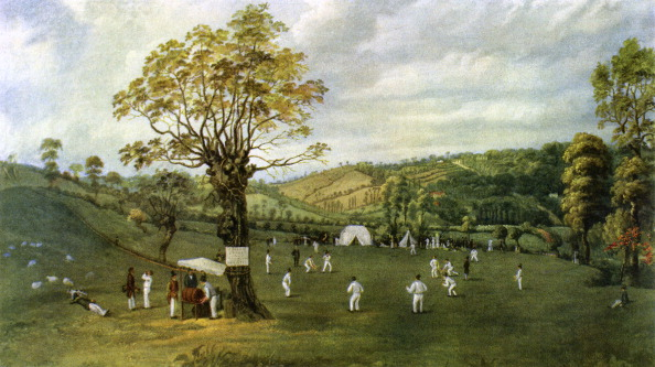 19th Century「Cricket match between Nottingham and Leicester」:写真・画像(17)[壁紙.com]