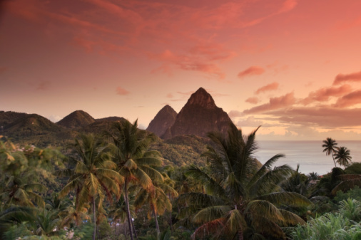 Soufriere「St. Lucia, Pitons and Soufriere Bay」:スマホ壁紙(19)