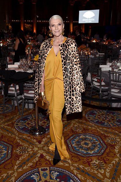 Leopard Print「Moet & Chandon Toasts To The amfAR New York Gala At Cipriani Wall Street」:写真・画像(15)[壁紙.com]