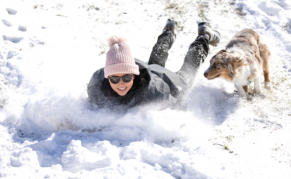 Snow「Winter Storm Uri Brings Ice And Snow Across Widespread Parts Of The Nation」:写真・画像(16)[壁紙.com]