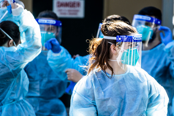 Infectious Disease「COVID-19 Clinics Open In Inner City Sydney As Queensland Closes Border To Greater Sydney」:写真・画像(0)[壁紙.com]