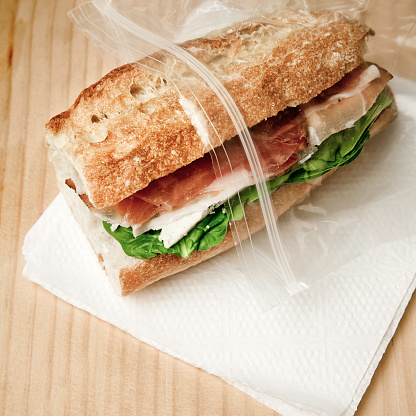 Napkin「Sandwich in freezer bag」:スマホ壁紙(6)