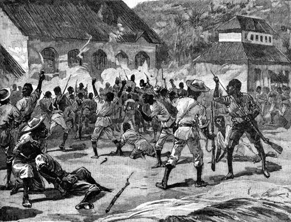 US Virgin Islands「Attack on the Court-House, St. Thomas-in-the-East」:写真・画像(6)[壁紙.com]
