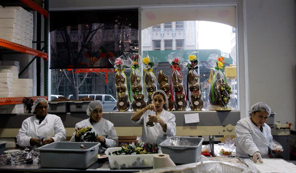 Easter Basket「New York Chocolatier Prepares Easter Basket Treats」:写真・画像(17)[壁紙.com]