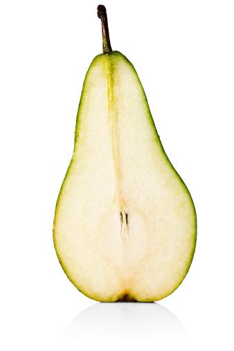 Pear「Half of a pear cut in half」:スマホ壁紙(3)