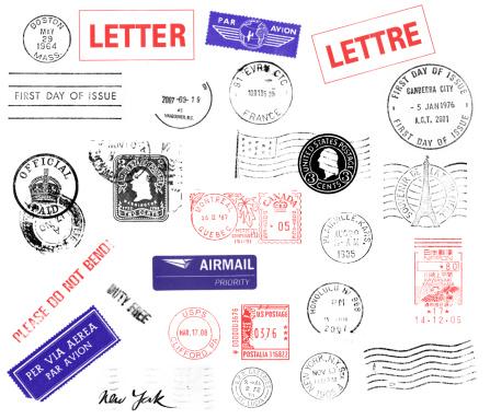 Correspondence「Postmarks」:スマホ壁紙(11)