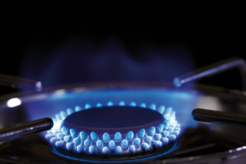 Flame「Flame of gas stove, close-up」:スマホ壁紙(13)