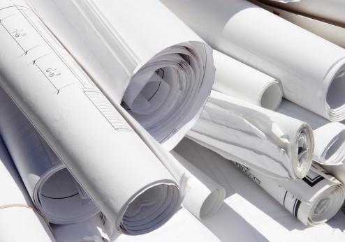 Cylinder「Rolled building plans」:スマホ壁紙(17)
