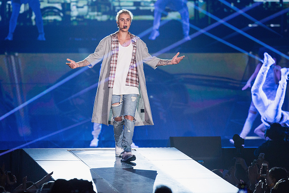 全身「Justin Bieber Performs At KeyArena」:写真・画像(9)[壁紙.com]