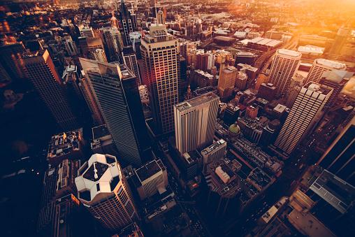 City Life「Sydney skyscrapers」:スマホ壁紙(1)