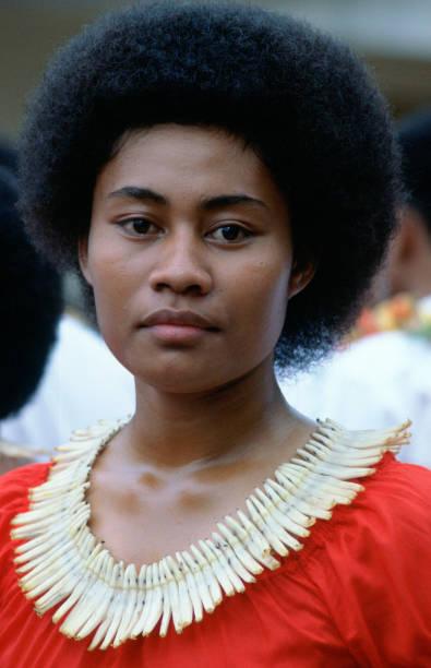 Fijian Girl in Fiji, South Pacific:ニュース(壁紙.com)