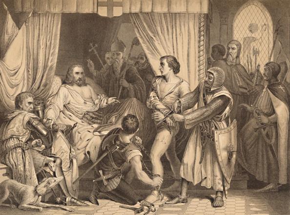 The Lion King「Richard Coeur De Lion Forgiving Bertrand De Gurdun 1886」:写真・画像(11)[壁紙.com]