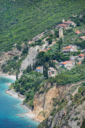 Mt Athos Monastic Republic「Greece, Chalkidiki, Mount Athos, World Heritage site, Nea Skiti monastic settlement」:スマホ壁紙(11)