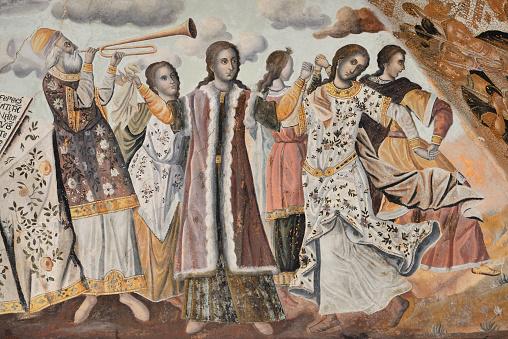 Mt Athos Monastic Republic「Greece, Chalkidiki, Mount Athos peninsula, listed as World Heritage, Iviron monastery」:スマホ壁紙(10)