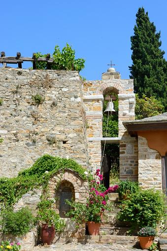 Mt Athos Monastic Republic「Greece, Chalkidiki, Mount Athos peninsula, listed as World Heritage, Dochiariou monastery」:スマホ壁紙(12)
