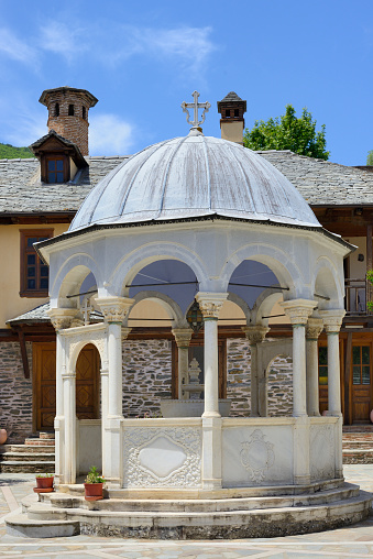 Mt Athos Monastic Republic「Greece, Chalkidiki, Mount Athos peninsula, listed as World Heritage, Koutloumousiou monastery」:スマホ壁紙(13)