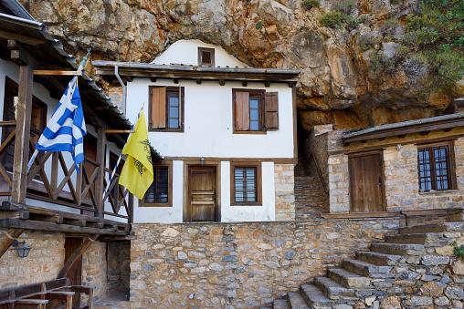 Mt Athos Monastic Republic「Greece, Chalkidiki, Mount Athos peninsula, World Heritage Site, Surroundings of Skete Prodromos」:スマホ壁紙(13)
