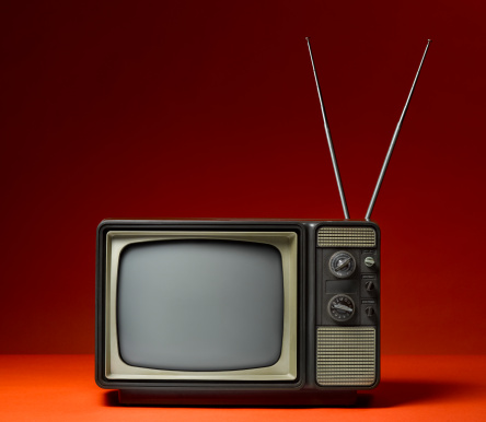 1980-1989「Analog TV and Rabbit Ears」:スマホ壁紙(6)