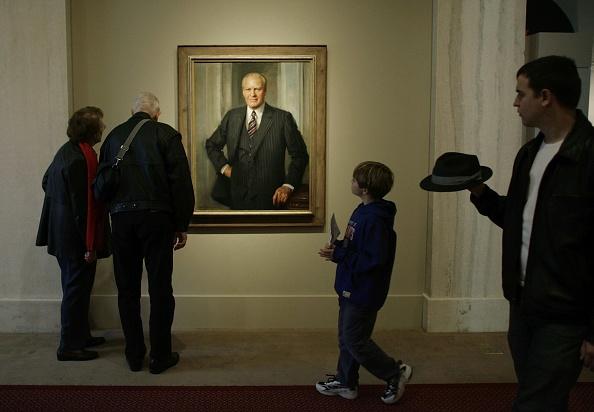 Chip Somodevilla「U.S. Mourns Passing Of Former President Gerald Ford」:写真・画像(8)[壁紙.com]