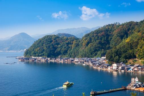 秋+京都「Ine Bay, Kyoto Prefecture, Honshu, Japan」:スマホ壁紙(17)