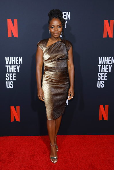 """Metallic Dress「FYC Event For Netflix's """"When They See Us"""" - Arrivals」:写真・画像(19)[壁紙.com]"""
