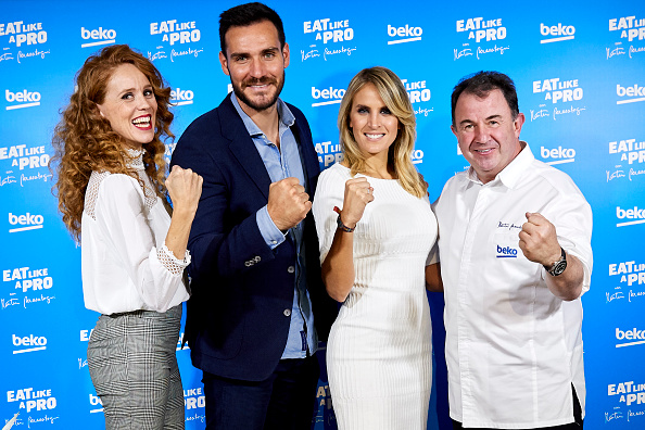Saul Alvarez「'Eat Like A Pro Con Martin Berasategui' Presentation In Madrid」:写真・画像(3)[壁紙.com]