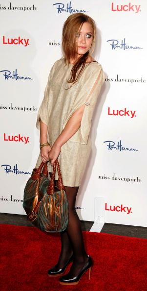 Mini Dress「The Olsen's and Lucky Magazine Host Miss Davenporte Trunkshow」:写真・画像(3)[壁紙.com]