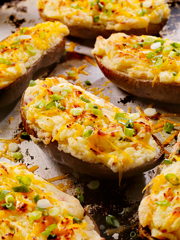 Baked Potato「Twice Baked, Stuffed Potatoes with Cheese and Bacon」:スマホ壁紙(15)