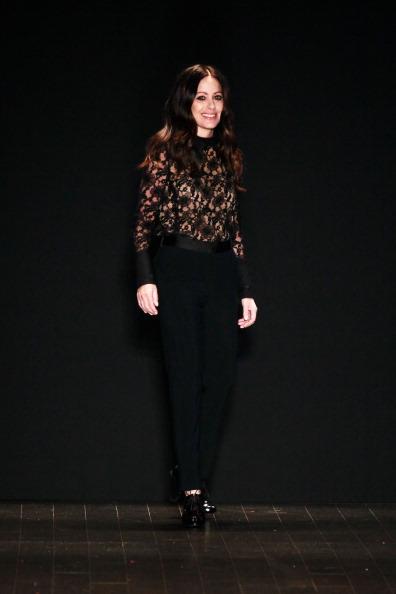 Lace-up「Jill Stuart - Runway - Fall 2013 Mercedes-Benz Fashion Week」:写真・画像(15)[壁紙.com]