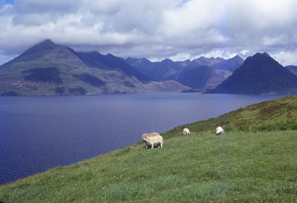 Superb view「The Black Cuillin And Loch Scavaig Near Elgol」:写真・画像(1)[壁紙.com]